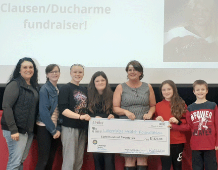 Seneca Public School Raises Funds and Spirits for Lakeridge Health Oshawa Hospital
